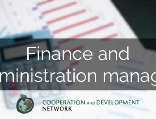 INTERNATIONAL COOPERATION CAREERS: FINANCE AND ADMINISTRATION MANAGER