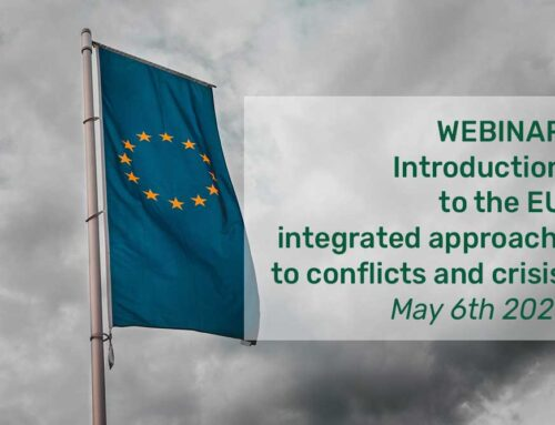 VIDEO of the webinair: Introduction to the EU integrated approach  to conflicts and crisis