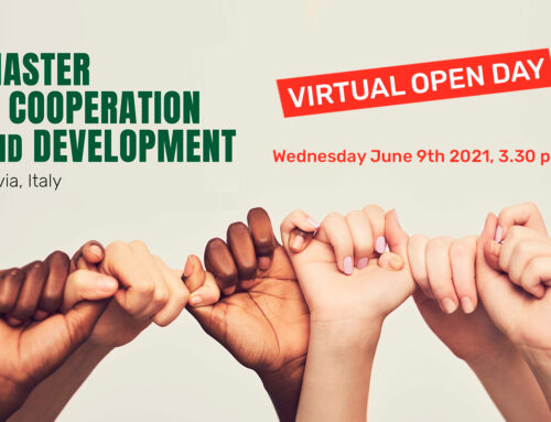 Online presentation of the Master in Cooperation and Development